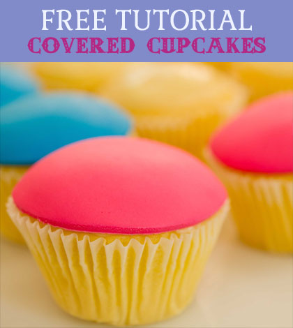 covered cupcakes