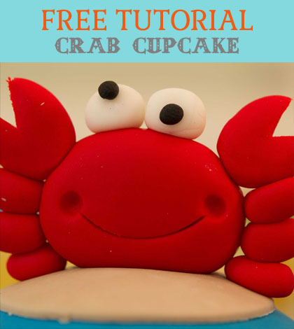 crab cupcake