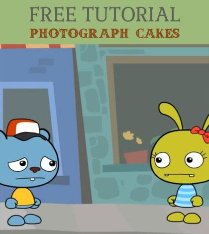 photograph cakes
