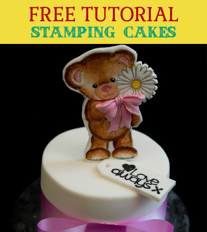 stamping cakes
