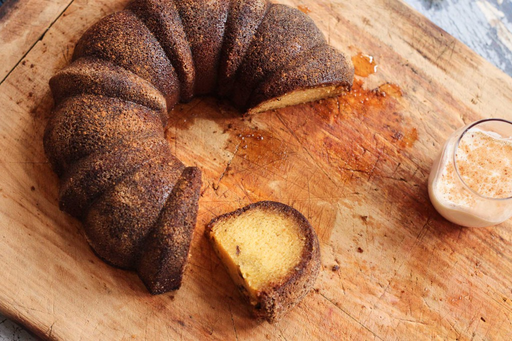 Spiced Rum Cake