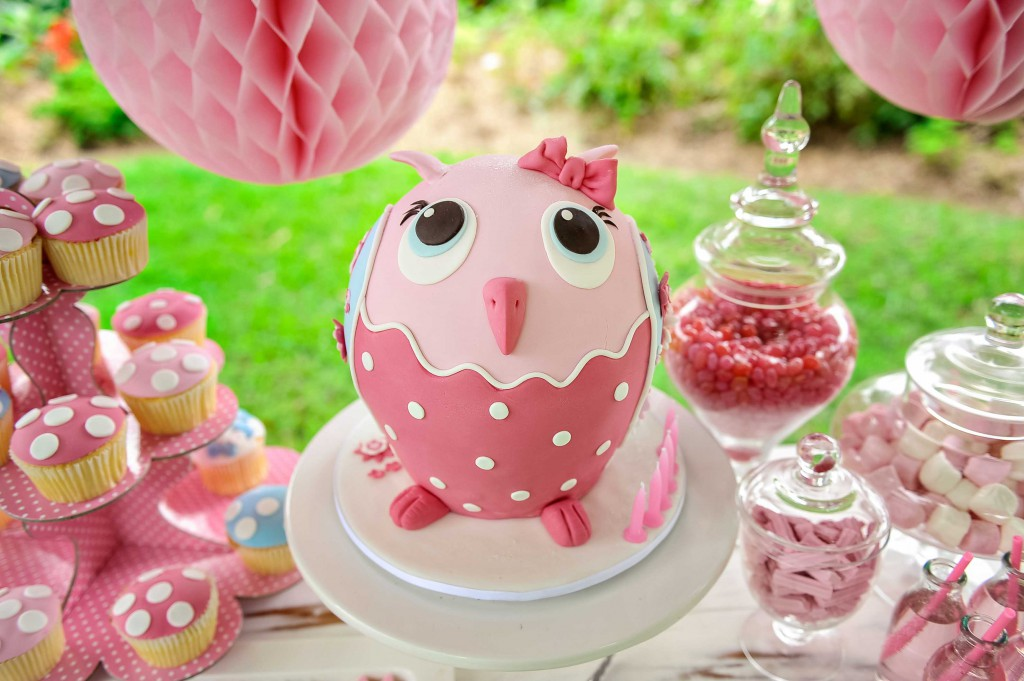 Owl Cake with Louise Vansleve