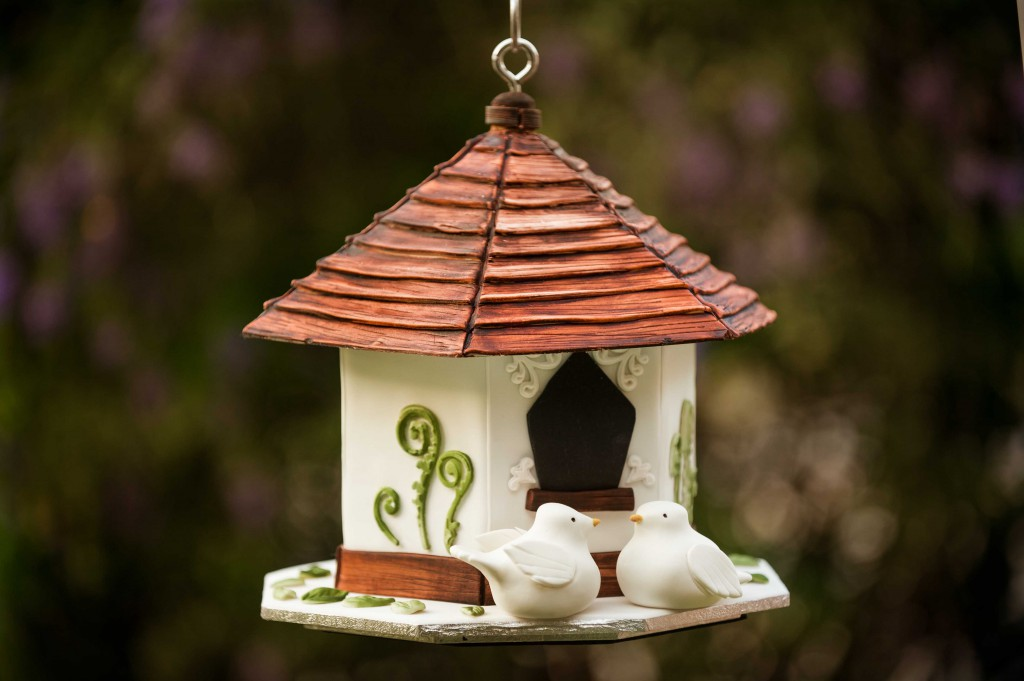 How to make a Hanging Birdhouse Cake