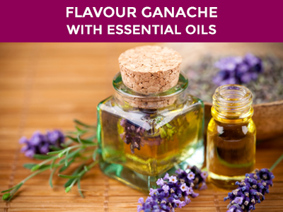 flavor your ganache with essential oils