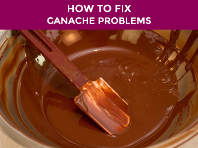 what can go wrong with ganache