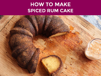 best ever spiced rum cake