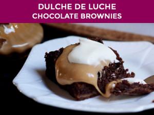dulce de luche chocolate brownies