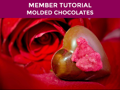 how to make perfect molded and filled chocolates