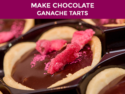 make sublime chocolate ganache tarts
