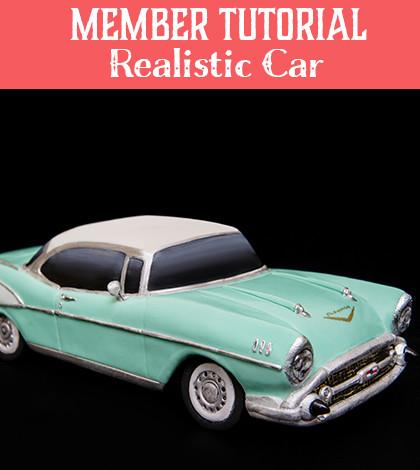realistic car