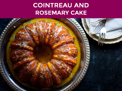 cointreau and rosemary cake recipe