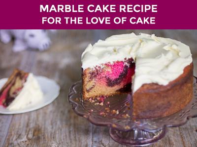 Gorgeous Marble Cake Recipe
