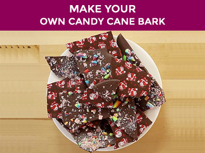how to make candy cane bark