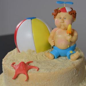 Beach Brat Cake
