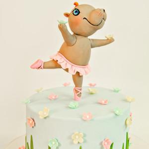 Dancing hippopotamus