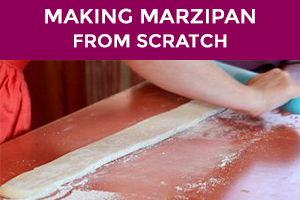 making marzipan from scratch