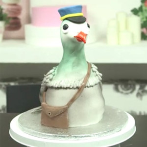 post pigeon cake