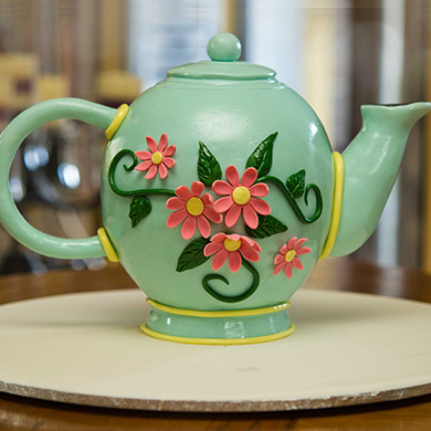 teapot cake decorating class tutorial