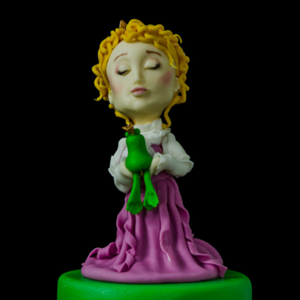 Princess and the Frog Cake decorating class tutorial