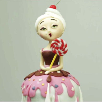 candy lady cake decorating class tutorial
