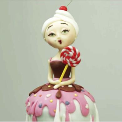 candy lady cake