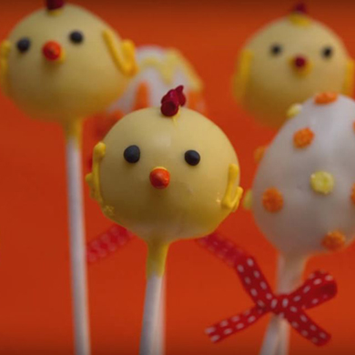 easter chicken cake pops cake decorating class tutorial