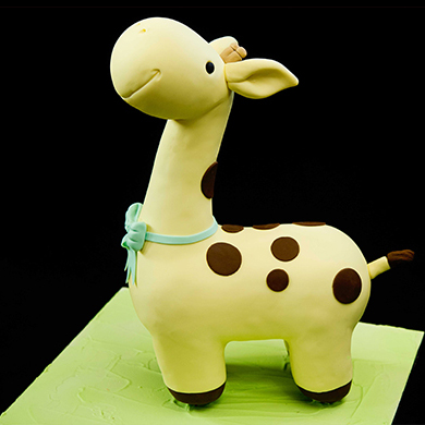 giraffe cake decorating class tutorial