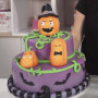 halloween pumpkin cake decorating class tutorial