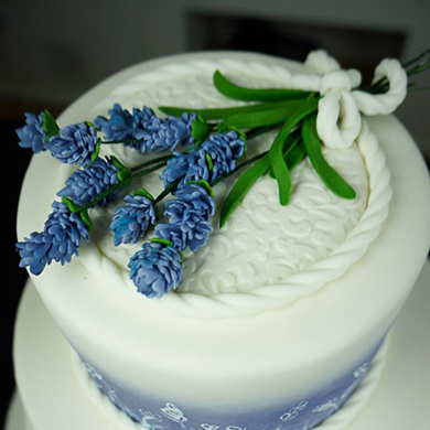 lavender cake decorating class tutorial