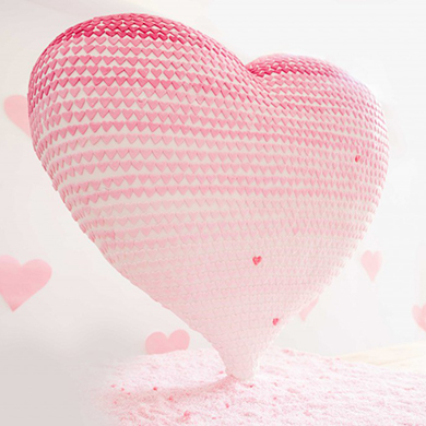 san francisco heart cake decorating class tutorial