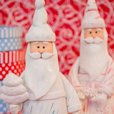 santa claus cake decorating class tutorial