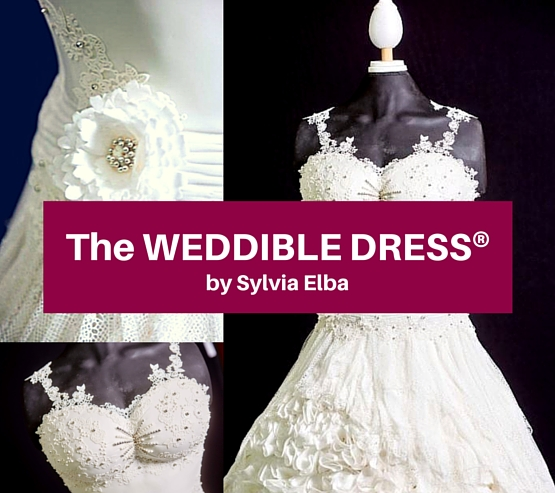 The Weddible Dress by Sylvia Elba at Cake International for Learn Cake Decorating Online