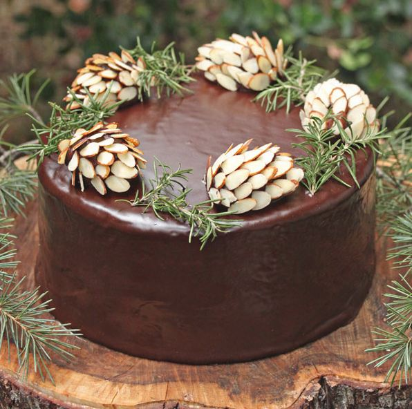Decorating Christmas Cake Nuts : Decorate a christmas cake classic ways on how to do it