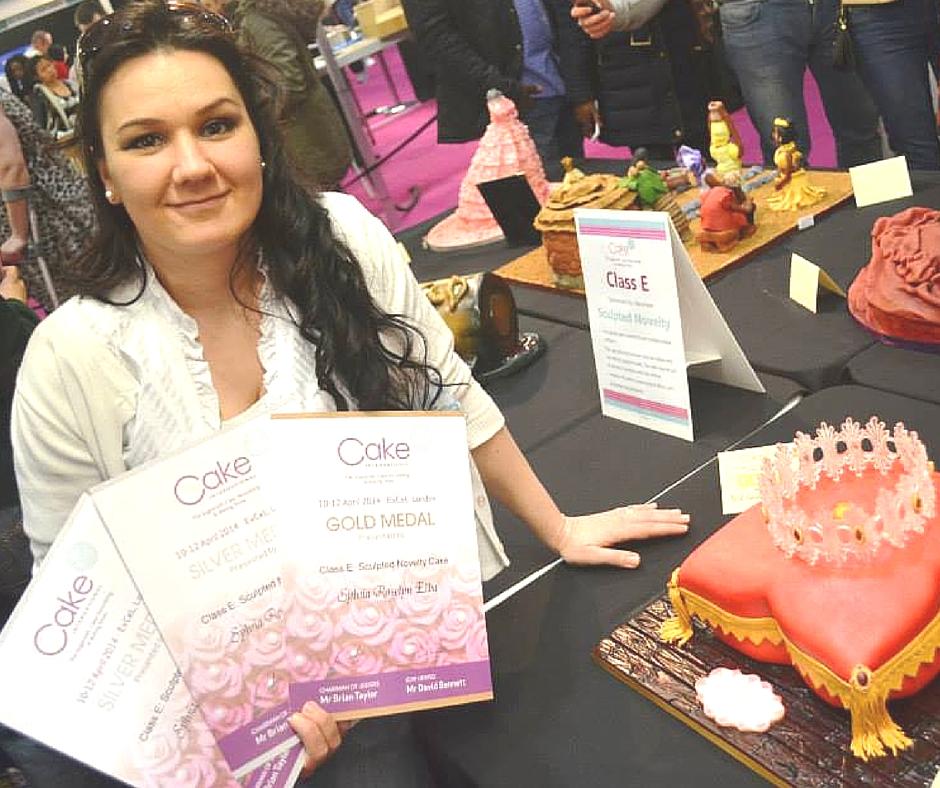 Sylvia Elba Award Winning Cake Artist