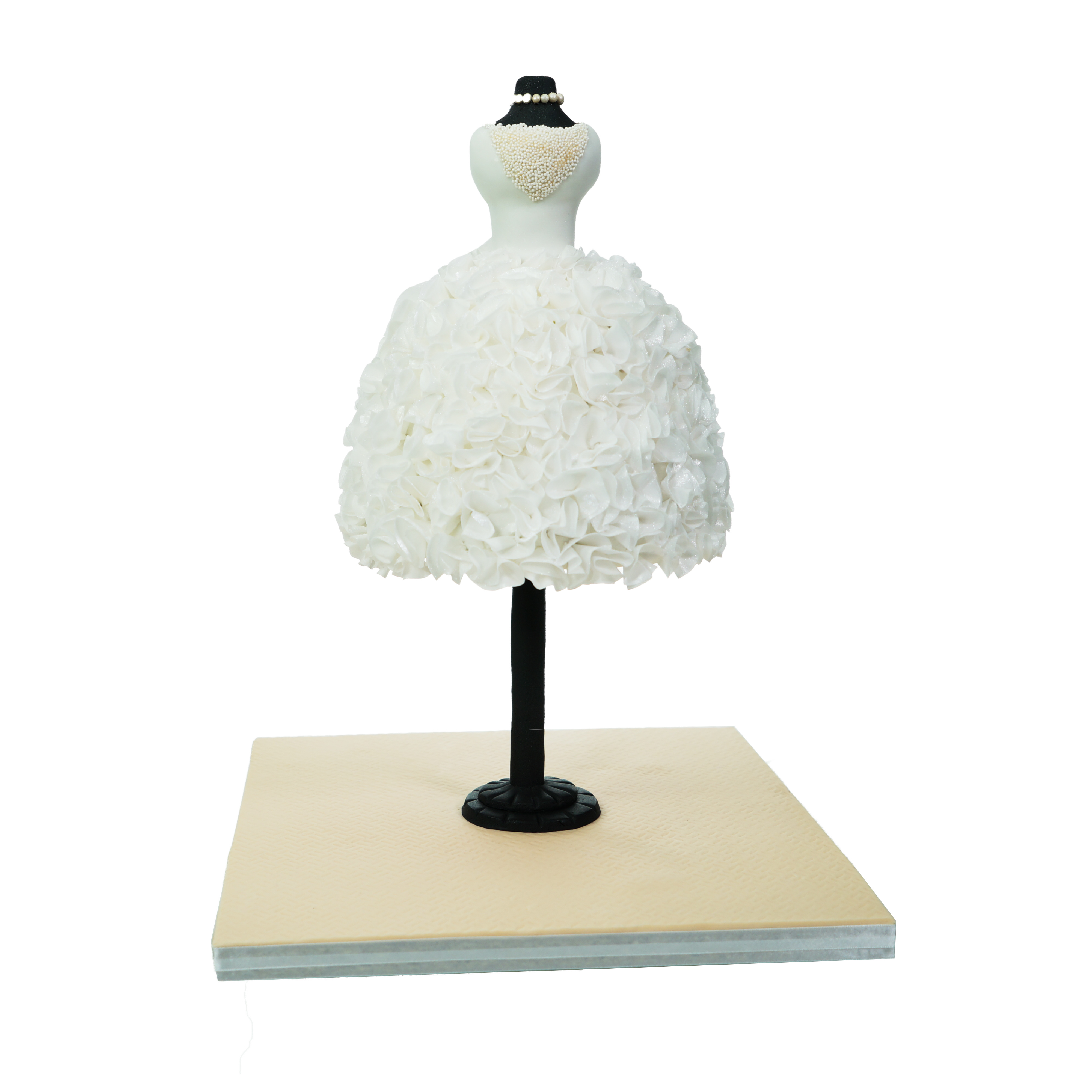 WEDDIBLE DRESS for Learn Cake Decorating Online by Sylvia Elba 4
