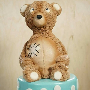 Vintage Teddy Bear Cake Tutorial