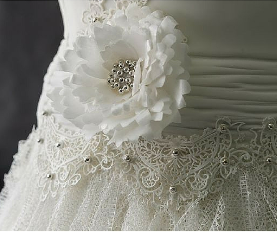 Weddible Dress by Sylvia Elba in The Mirror on Learn Cake Decorating Online