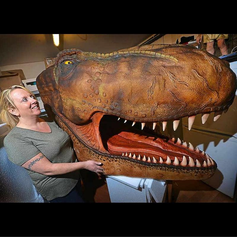 Rose Macefield dinosaur cake