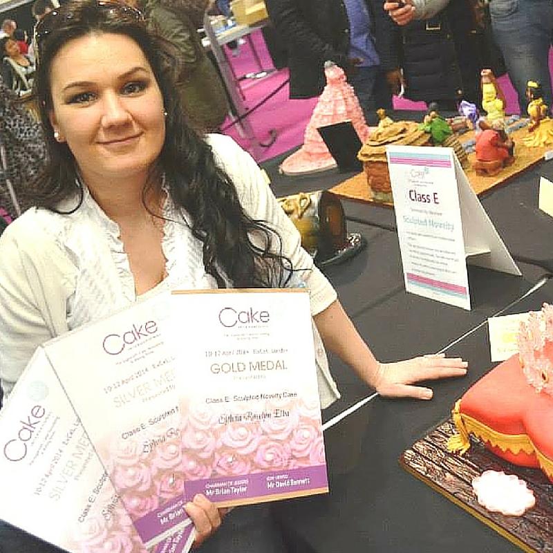 Sylvia Elba award winning cake decorator