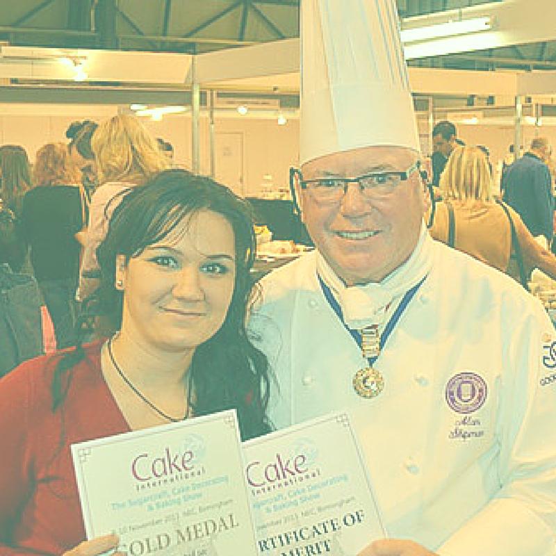 Sylvia Elba, Award winning cake decorator