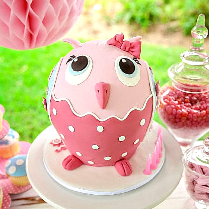 owl cake tutorial