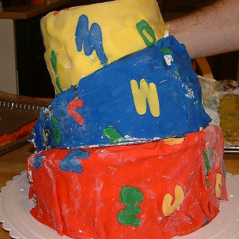 topsy turvy cake wreck