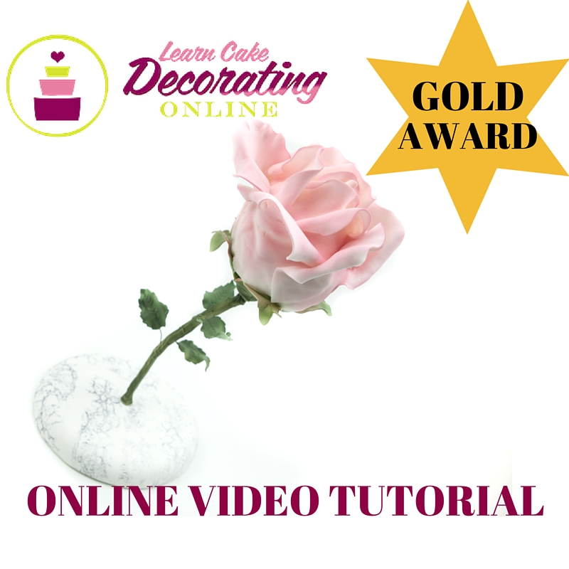 Yvette Marner Rose Cake Tutorial