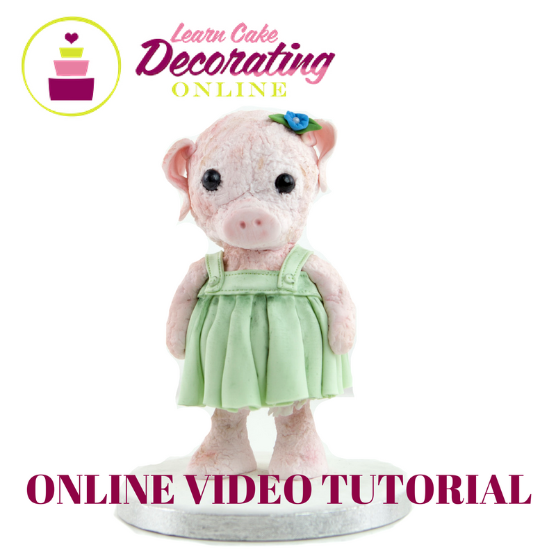 Rhu Strand Penny the Pig Tutorial