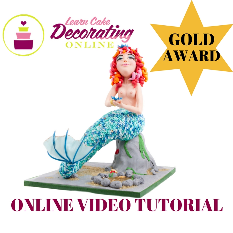 Myrtle the Mermaid tutorial by Rhu Strand