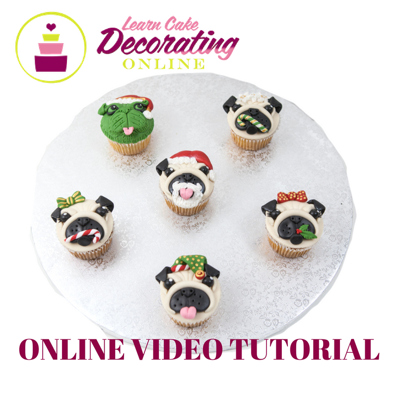 Molly Robbins Christmas Pupcakes Tutorial